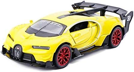 YN モデルカー モデルカーシミュレーション1:32ブガッティVisionGTレース合金車モデルダイキャストおもちゃの車のおもちゃの車引き戻し子供のための男の子のギフトおもちゃ ミニカー