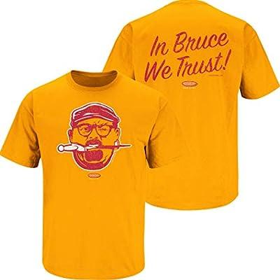 Smack Apparel Tampa Bay Football Fans. Bucco Bruce Creamsicle Orange T-Shirt (Sm-5X)