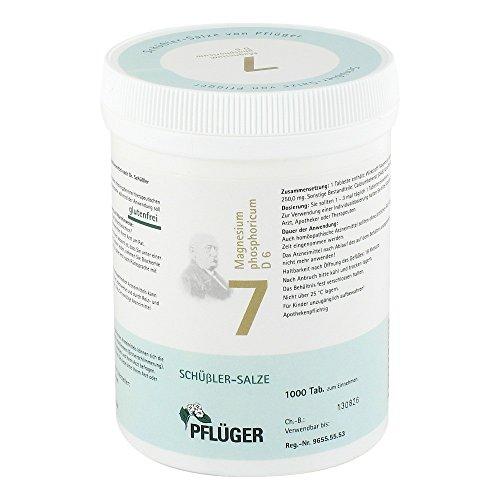 Biochemie Pflueger 7 Magnesium Phos.D 6 Tabletten 1000St