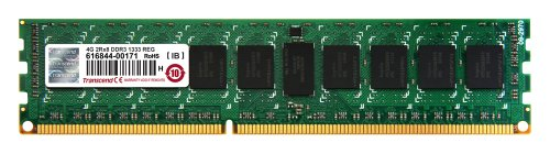 Transcend 4GB JetMemory DDR3-1333 ECC Registered DIMM 2Rx8 For Mac Pro Early 2009 (TS4GJMA333N)