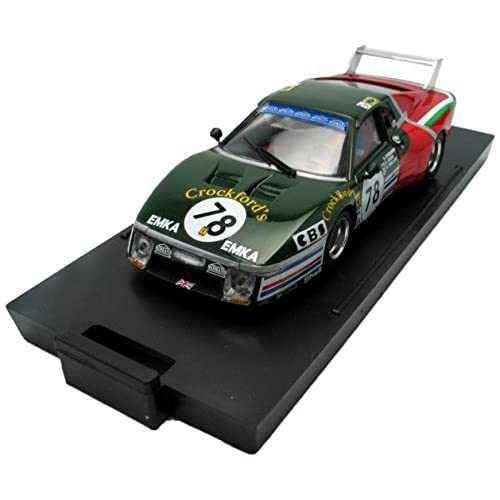 Brumm R212b - Véhicule Miniature - Modèle À L'échelle - Ferrari 512 Bb - Le Mans 80 - Echelle 1/43