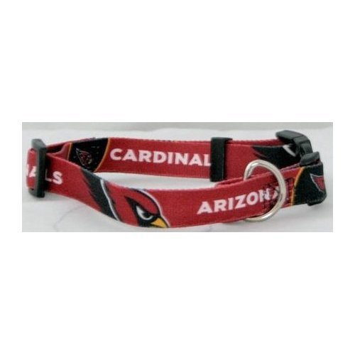 HUNTER MFG Arizona Cardinals Dog Collar, Small