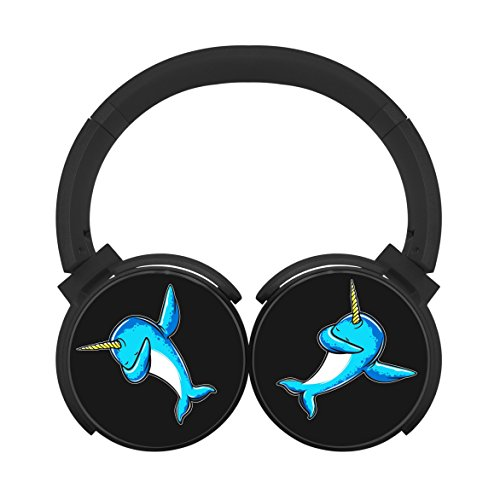 MagicQ Dab Narwhal Bluetooth Headphones,Hi-Fi Stereo Earphon
