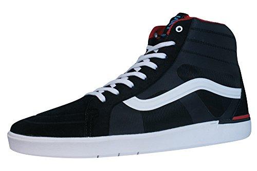 Vans - Locus Black/Red Skaterschuh Schuhe Sneaker Negro