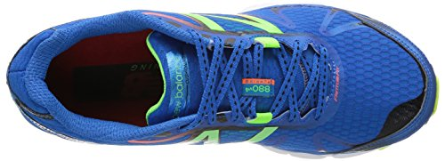 Nieuw Evenwicht Mannen, 880v4 Neutrale Running Sneakers Blauw / Geel