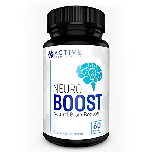 Neuro Boost Brain Supplement – #1 Physician Formulated Scientific Nootropic for Focus, Clarity, Memory, & Cognition – Natural Ingredients including Gingko Biloba, DMAE, Rhodiola Rosea, & More – 60 Ct