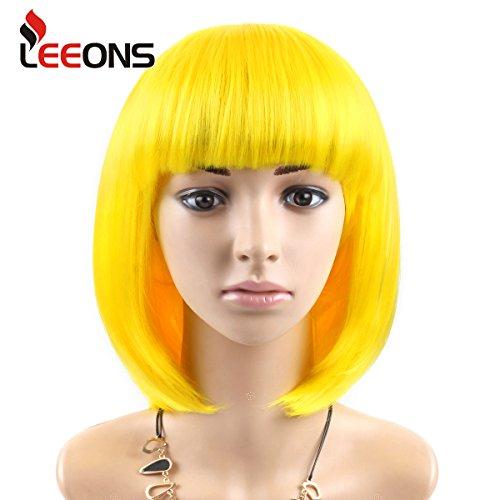 Yellow Clown Wig (LEEONS12