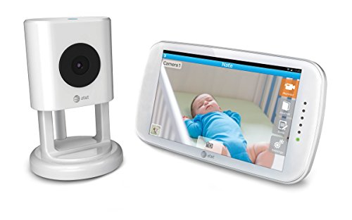 Baby's Journey AT&T mHealth Smart Sync Internet Viewable Touch Screen Video Monitor, 5 Inch by Baby's Journey
