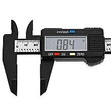 Digital Carbon Fiber Caliper Micrometer 6inch/150mm