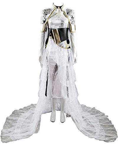 Price comparison product image Women's Cosplay Costume Final Fantasy XV FF 15 Lunafreya Nox Fleuret Uniform Dress Suit Set
