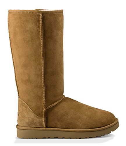 UGG Women's Classic Tall II Winter Boot, Chestnut, 11 B ()