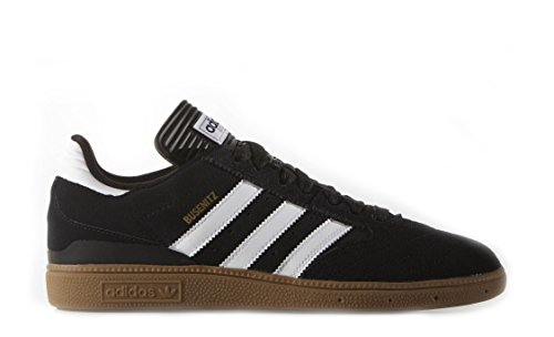 Adidas Men's Busenitz Shoe, Core Black, Ftwr White, Gold Met, 8 M US