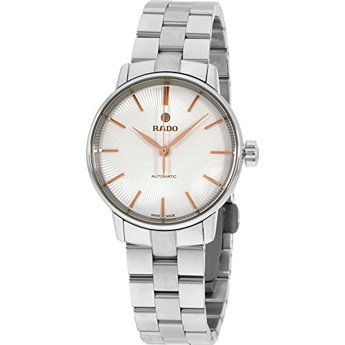 Rado Coupole Classic Silver Dial Two-Tone SS Automatic Ladies Watch R22862023