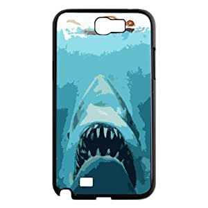 case Of Deep Sea Shark Customized Bumper Plastic Hard Case For Samsung Galaxy Note 2 N7100
