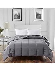 ELNIDO QUEEN All-Season White Down Alternative Quilted Comforter