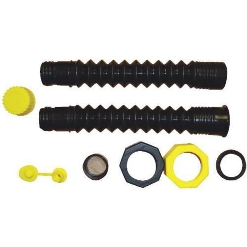 Flow Hi Spouts - EZ Pour Replacement Hi-Flo Spout Old Gas Can Fill Kit Fuel Diesel Water Jug