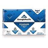 Georgia-Pacific 500 Sheets, 8.5'' x 14'' Standard Multipurpose Legal Paper