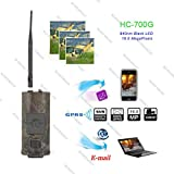 Luxuglow Trail Camera,1080P 16MP HD Wildlife Game Hunting Camera with 940nm Upgrading IR LEDs Night Vision, 120° Wide Angle Lens,IP56 Waterproof Wildlife Camera for Wildlife Hunting and Home Security