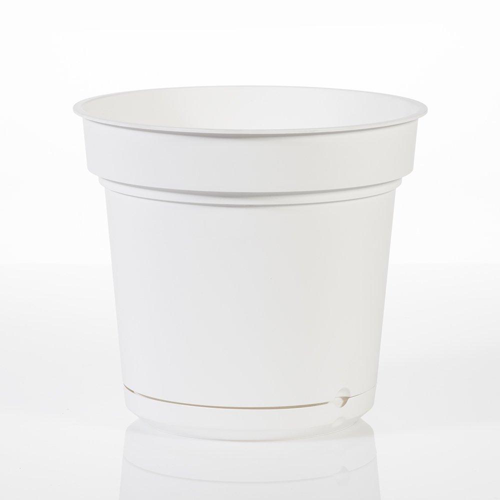 Hydral Teraplast vaso con riserva d'acqua Bianco - 9 litri