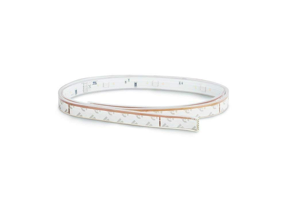 Philips Hue LightStrip Plus Dimmable LED Smart Light Extension (Compatible with Amazon Alexa  Apple HomeKit, and Google Assistant) (Renewed)