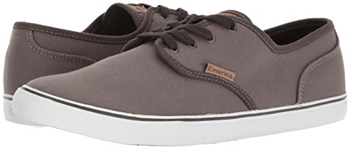 Emerica Wino Cruiser, Color: Dark Grey/Grey, Size: 41.5 Eu / 8.5 Us / 7.5 Uk