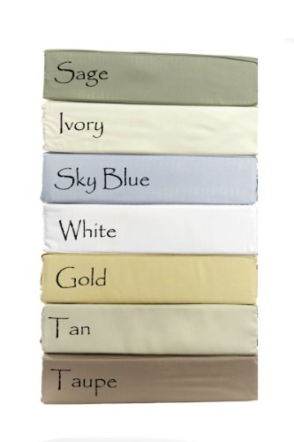 100% Viscose from Bamboo Silky Sheet Set, King, Taupe