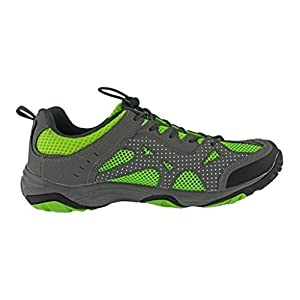Rockin Footwear Mens Amphibious Athletic Hiking Swimming Water Shoe Aqua Sneaker, Green, 11 D(M) US