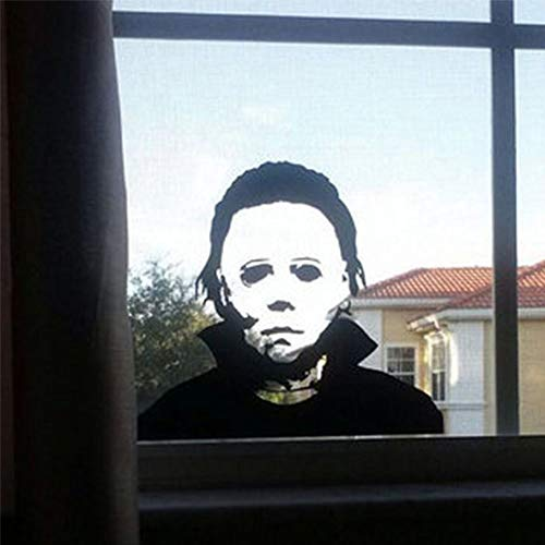 wonuu Wall Sticker Michael Myers Horror Window Decals Cars Trucks Vans Laptops -