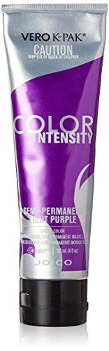 Joico Intensity Semi-Permanent Hair Color, Light Purple, 4 Ounce
