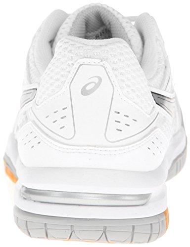 Ball Asics Rocket silver Volley Shoe Women's White 7 Gel r6Fzn6