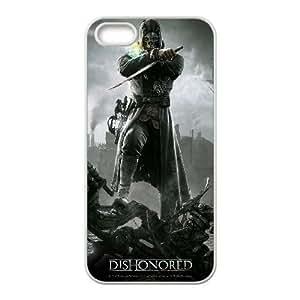Dishonored 2 funda iPhone 4 4s caja funda del teléfono celular del teléfono celular blanco cubierta de la caja funda EEECBCAAB14540