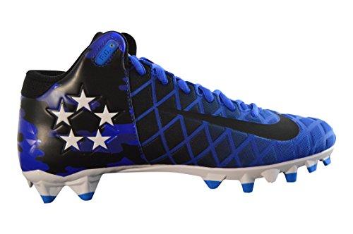 Nike Heren Veld Algemeen Pro Td Voetbal Lacrosse Klampen Racer Blauw / Wit / Zwart