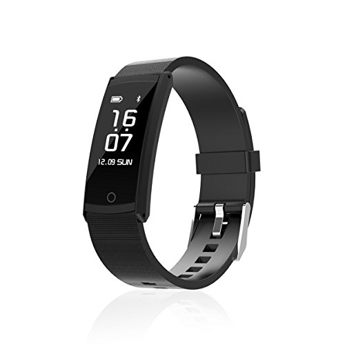 EWEMOSI Bluetooth 4.0 Fitness Tracker for Outdoor Sports Activities - Water Resistant Smart Bracelet Sedentary Reminder - Outdoor Sports Activities Wristband for Android IOS