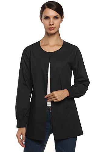 ANGVNS Women Workwear Jacket Cotton