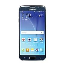 Samsung Galaxy S6, G920T 32GB, Unlocked LTE-4G-GSM OCTA-Core Smartphone - Black Sapphire, Android 5.1
