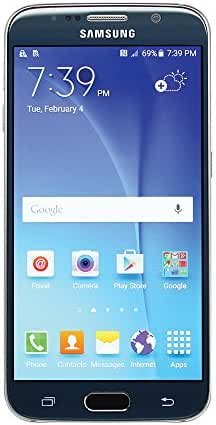 Samsung Galaxy S6 SM-G920A 32GB Sapphire Black Smartphone for AT&T (Certified Refurbished)