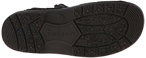 Naot Mens Lappland Leather Sandals Matt Black
