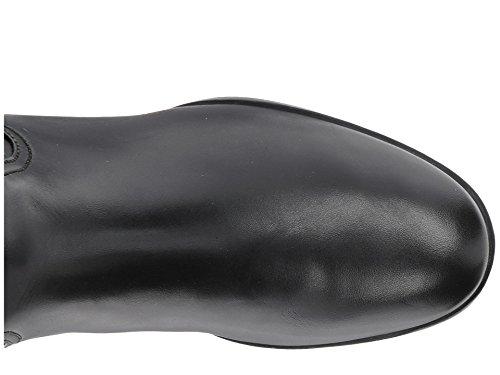 Michael Kors Harland Riding Boot Black-Mocha Womens Size 5.5 M CbkTE