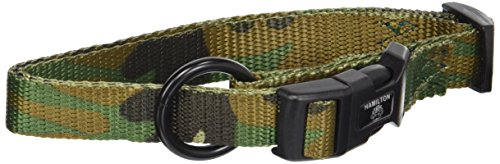 Nylon Dog Hamilton Collar Adjustable - Hamilton 5/8