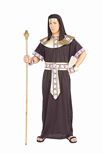 [Forum Novelties Men's Egyptian Pharaoh King Tut Costume, Black/Gold, Standard] (Ancient Egypt Costumes)