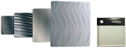 Rug 41–060Diseño Un diseño y Bahía de apertura para ventilador BelArto, acero inoxidable