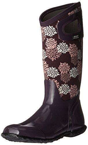 Snow Pompons Women's Blue Boot Hampton Multi Plum Bogs North 1qgxwRCHx