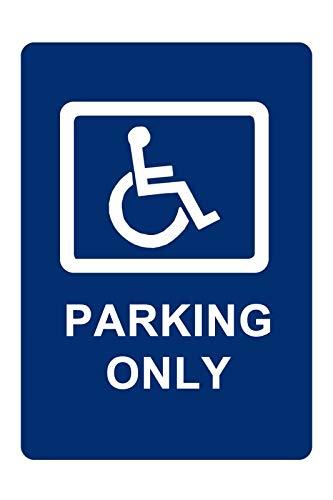 Handicap Parking Only Aluminum Sign 8