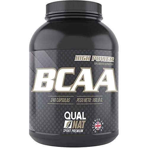 BCAA con Vitaminas B2 B6 | Suplemento Deportivo | 240 Cápsulas- Qualnat a buen precio