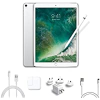 2017 New IPad Pro Bundle (4 Items): Apple 10.5 inch iPad Pro with Wi-Fi 64 GB Silver, Apple Pencil, Mytrix USB Apple Lightning Cable and All-in-One Travel USB Charger