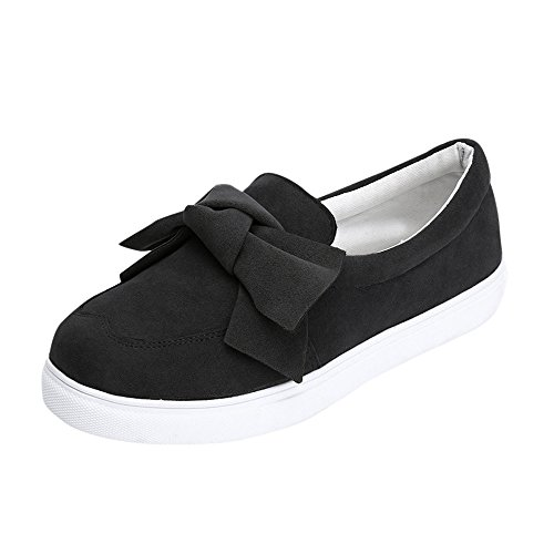 0d8280bbb3450 Pongfunsy Womens Canvas Shoes Sport Slip On Running Flat Shoes Summer  Zipper Single Shoes Casual Loafers Espadrilles (35, Black 5)