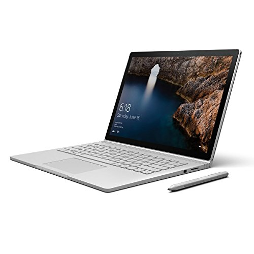 "Microsoft Surface Book Intel Core i7-6600U 2.6GHz, NVIDIA GeFORCE 965M 2GB (3000 x 2000 Resolution), Touchscreen, Dual Camera 13.5"" 16GIG 512 SSD Pen (Renewed)"