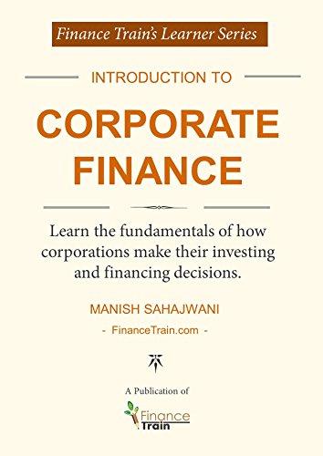 Introduction To Corporate Finance By Sahajwani Manish