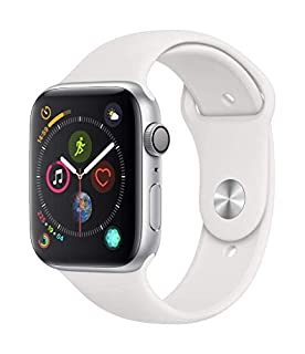 Apple Watch Series 4 (GPS, 44mm) - Silver Aluminium Case with White Sport Band (B07HDGBVVT) | Amazon price tracker / tracking, Amazon price history charts, Amazon price watches, Amazon price drop alerts