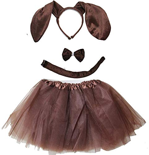 Kirei Sui Kids Animal Costume Tutu Set Dachshund for sale  Delivered anywhere in USA
